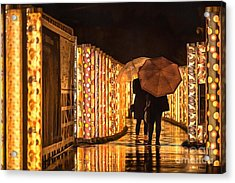 Acrylic Print featuring the photograph In The Kimono Forest by Eva Lechner