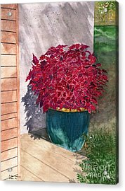Acrylic Print featuring the painting In The Morning by Melly Terpening