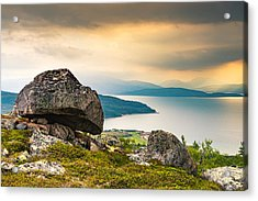Acrylic Print featuring the photograph In The North by Maciej Markiewicz