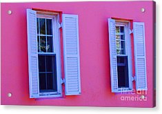 In The Pink Acrylic Print by Debbi Granruth