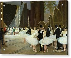 In The Wings At The Opera House Acrylic Print