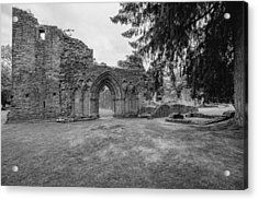 Inchmahome Priory Acrylic Print by Jeremy Lavender Photography