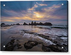 Incoming Tide 2 Acrylic Print