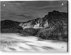 Incoming Waves Acrylic Print