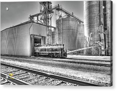 Acrylic Print featuring the photograph Industrial Switcher 5405 by Jim Thompson