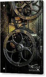 Industrial Wheels Acrylic Print