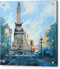 Indy Circle Day Acrylic Print