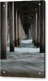 Acrylic Print featuring the photograph Infinity by Edgars Erglis