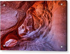 Inner Glow Acrylic Print by James Marvin Phelps