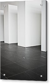 Interior Pillars Acrylic Print by Tom Gowanlock