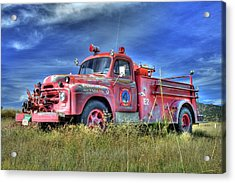 International Fire Truck 2 Acrylic Print