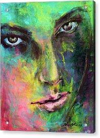 Introspection 2 Acrylic Print by Dorina Costras