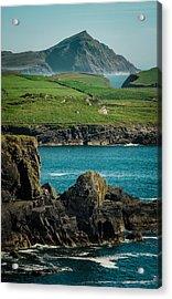 Irish Coastline Acrylic Print by Fergal Gleeson