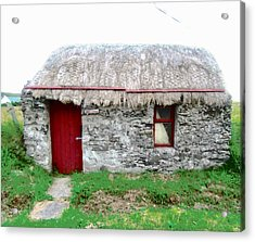 Irish Cottage Acrylic Print
