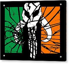 Irish Mandalorian Flag Acrylic Print