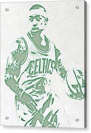 Isaiah Thomas Boston Celtics Pixel Art Acrylic Print