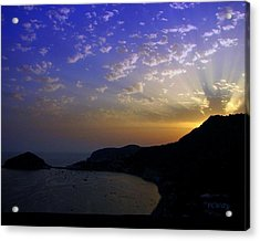 Acrylic Print featuring the photograph Ischia Awakens by Patrick Witz