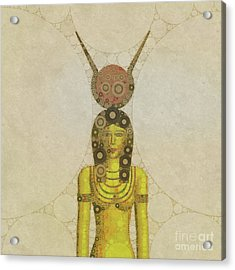 Isis, Mother Goddess Of Egypt By Mary Bassett Acrylic Print