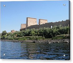 Island Of Philae Acrylic Print