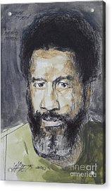 Ismael Rivera Acrylic Print by Wade Hampton
