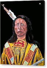 Jack Red Cloud Acrylic Print by Stan Hamilton