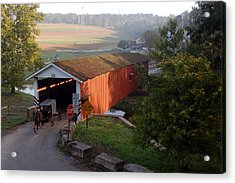 Jacksons Sawmill Covered Bridge Acrylic Print