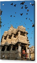 Acrylic Print featuring the photograph Jagdish Temple by Yew Kwang