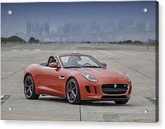 Jaguar F-type Convertible Acrylic Print