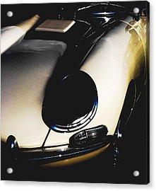 Jaguar In The Night Acrylic Print by Angela Davies