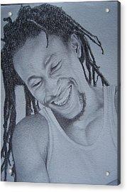 Jah Cure Acrylic Print by Jeffrey Samuels