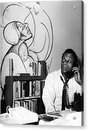 James Baldwin, 1963 Acrylic Print