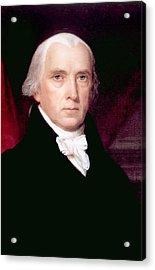 James Madison 1751-1836, U.s. President Acrylic Print by Everett