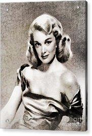 Jan Sterling, Vintage Actress Acrylic Print