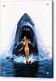 Jaws 2 1978  Acrylic Print