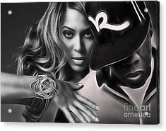 Jay Z Beyonce Collection Acrylic Print