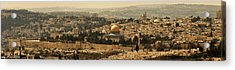 Jerusalem Acrylic Print by Amr Miqdadi