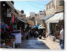 The Old City Of Jerusalem 1 Acrylic Print
