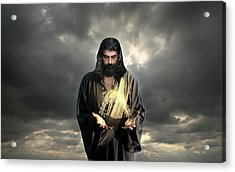 Jesus Christ- Look I Am Coming Soon Acrylic Print