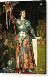 Joan Of Arc At The Coronation Of Charles Vii Acrylic Print