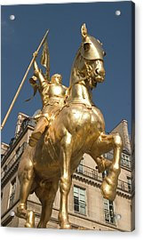 Joan Of Arc Acrylic Print by Carl Purcell