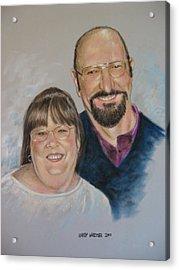 Joe And Patsy Acrylic Print