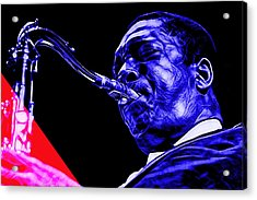 John Coltrane Collection Acrylic Print
