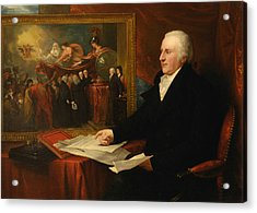 John Eardley Wilmot Acrylic Print by Benjamin West