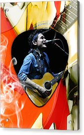 John Mayer Art Acrylic Print by Marvin Blaine