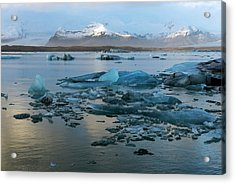 Acrylic Print featuring the photograph Jokulsarlon, The Glacier Lagoon, Iceland 5 by Dubi Roman
