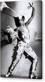 Josephine Baker Acrylic Print by Stanislaus Walery