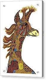 Josi Giraffe Acrylic Print