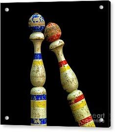 Juggling Pin Acrylic Print by Bernard Jaubert
