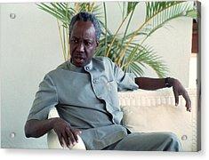 Julius Nyerere Acrylic Print