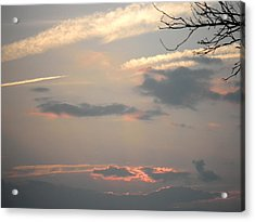 July Sunset Acrylic Print by Kate Gallagher